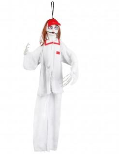 Zombie-Krankenschwester Halloween-Hängedeko 90 cm