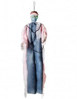 Zombie-Chirurg Halloween-Dekoration mit Licht 190 cm