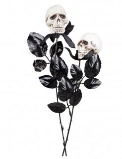 Schädel Halloween-Deko 45 cm rosa