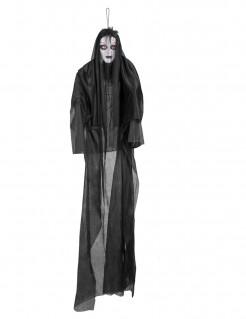Geisterdame mit Licht und Sound Halloween-Deko 150 cm