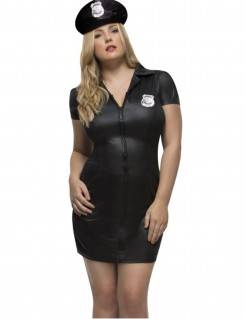 Kostüm sexy Polizistin für Damen