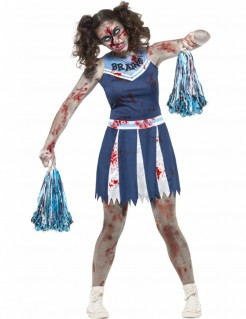 Halloween-Teenkostüm Zombie-Cheerleader