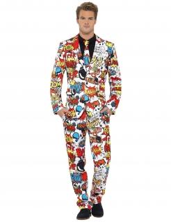 Comic Strip Anzug bunt