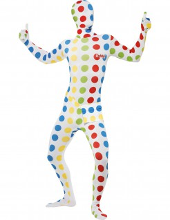 Twister™-Herrenkostüm Second Skin Suit