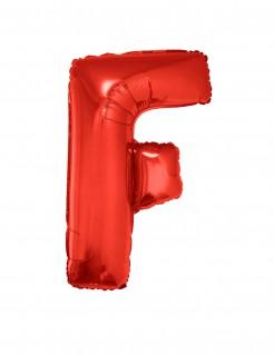 Riesiger Buchstaben-Luftballon F rot 102cm