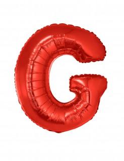 Riesiger Buchstaben-Luftballon G rot 102cm