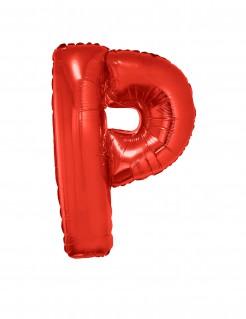 Riesiger Buchstaben-Luftballon P rot 102cm