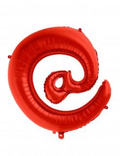 Riesiger Schriftzeichen-Ballon @ rot 70cm