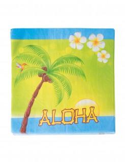 Papierservietten Aloha Sommerparty 20 Stück bunt