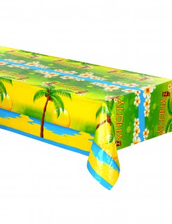 "Tischdecke ""Aloha"" Hawaii-Muster bunt 135x270cm"