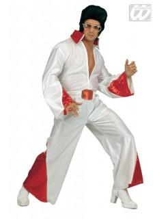 Rock n Roll Star Kostüm weiss