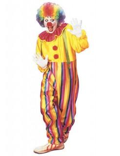 Zirkus-Clown Herrenkostüm bunt