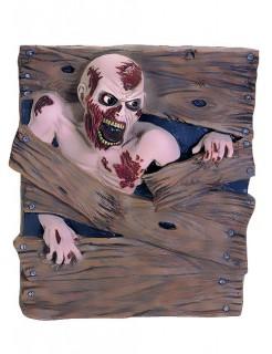Zombie Horror-Figur Halloween-Deko braun-beige 82x87cm