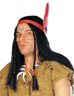 Apachen Häuptling Perücke