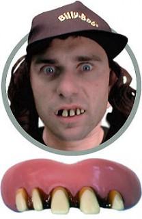 Das Original Billy Bob-Zähne rosa-weiss