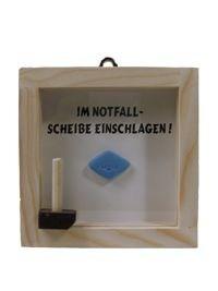 Potenzpillen Notfall-Set Scherzartikel 10x10cm