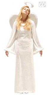 Himmlischer Engel Damenkostüm weiss