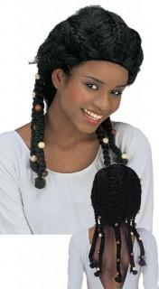 Tumi Rastaperücke schwarz