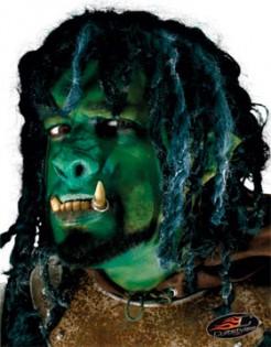 Ork Nase Kostümzubehör grün