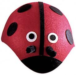 Marienkäfer Hut Kostüm-Zubehör rot-schwarz-weiss