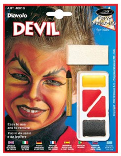 Kinder Make Up Teufel