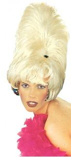 Turmfrisur Perücke blond
