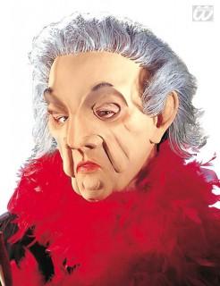 Alte Frau Maske Oma Vollmaske Hautfarben Bunt Gunstige Faschings