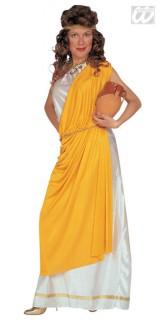 Römerin Damenkostüm XL weiss-gelb