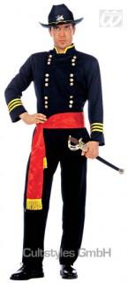 Nordstaaten General Kostüm blau-gelb-rot