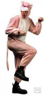 Panther Kostüm Raubkatze rosa