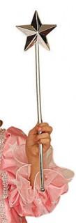 Zauberstab Stern silber 30cm