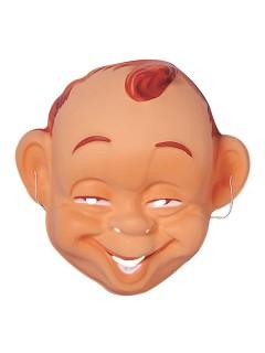 Baby Maske lachend haut