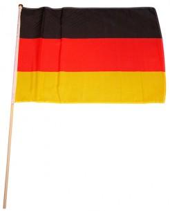 Deutschland Flagge Fussball Fanartikel schwarz-rot-gelb 30x45cm