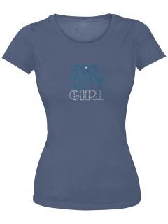 Girlie Shirt Big City Girl dunkelblau