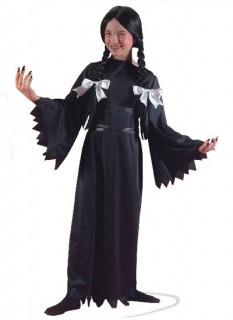 Gothic Vampirin Halloween Kinderkostüm schwarz