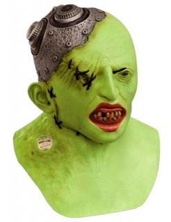 Agent Zero-Maske Halloween-Maske grün-metallic
