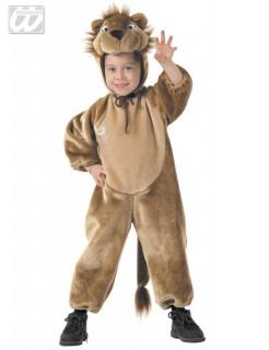 Löwe Kinderkostüm Dschungel-Party braun