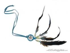 Indianer Amulett bunt