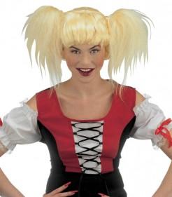 Sexy Bayerin Perücke blond