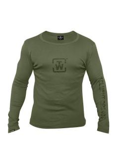 Tollwut-Sweatshirt für Herren Street Wear grün