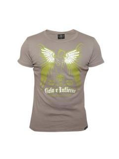 Tollwut Streetwear T-Shirt für Herren OVERDRIVE grau-grün