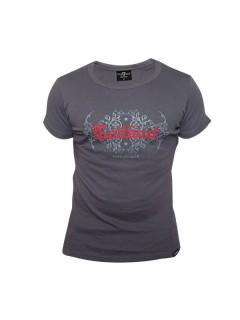 Tollwut-T-Shirt für Herren Motiv Itch grau-rot