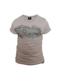 Tollwut-Shirt für Herren CRITE grau