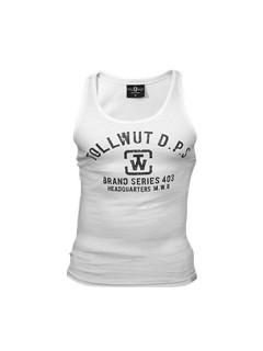 Tollwut Street Wear Tanktop für Herren ESCAPE weiss-schwarz