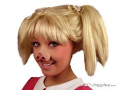Schwein Nase hautfarben