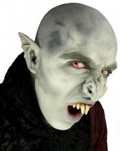 Vampir Nase Halloween Kostümaccessoire grau-grün