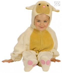 Schaf Babykostüm Deluxe beige-gelb