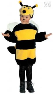 Bienchen Kinderkostüm schwarz-gelb