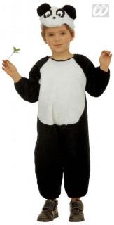 Panda Kinderkostüm schwarz-weiss
