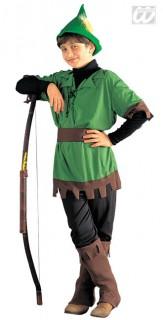 König der Diebe Kinderkostüm grün-braun-schwarz